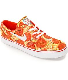 <b>Bulk orders of this item will be subject to review.</b><br><br>It's not delivery. It's the Nike SB x Skate Mental Stefan Janoski Pizza skate shoes collaboration. Take a bite out of these delicious looking quick strike pro model kicks feature a unique p