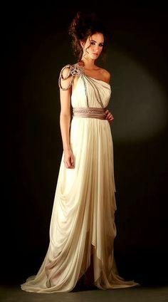 BEIZE & GOLD PRINTED DRESSES