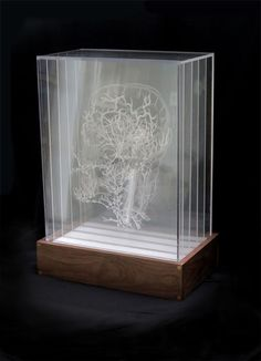 (Pier 9 AiR) Inside the Box (how to Etch and Display Multiple Drawings on Transparent Acrylic) : 12 Steps (with Pictures) - Instructables Laser Art, 3d Laser, Glass Signage, Laser Cutter Ideas, Glass Engraving, Engraving Art, Glass Boxes, Acrylic Box, Dremel