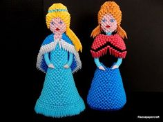 3d origami princess Anna tutorial part1 - YouTube                                                                                                                                                      More                                                                                                                                                                                 More
