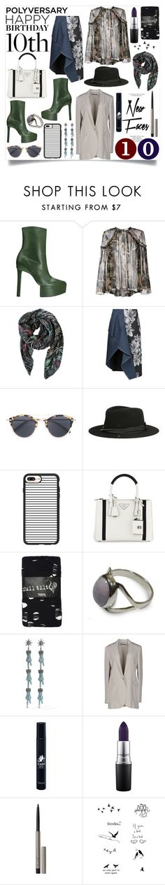 """""""happy birthday"""" by nothingisnormal ❤ liked on Polyvore featuring Theory, Zimmermann, Julie Egli, 3.1 Phillip Lim, Oliver Peoples, Maison Michel, Casetify, Prada, Full Tilt and NOVICA"""