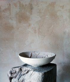 new work. Peely bark bowl