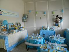Mickey Mouse DECOR.. We Provide Personalized Services For All Occasion. Let  Us Take Care Of All Your Birthdays, Baby Shower, Bridal Shower, Corporate  Events ...