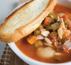 Minestrone soup   Healthy Food Guide