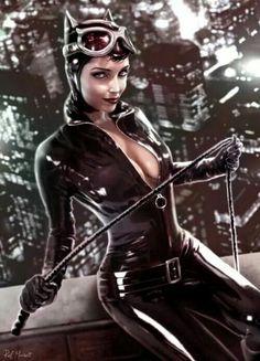 Catwoman by Raf Marinetti