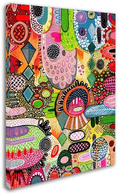 Trademark Global Hello Angel Fly With Me Canvas Art 35 Andrea Gaspar Painting Inspiration, Art Inspo, My Canvas, Folk Art, Art Projects, Art Pieces, Artsy, Drawings, Illustration
