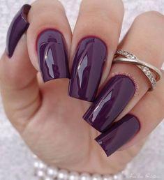 Bachelorette Nails Nails Short Square Head Nature White Acryl Nails Nude Nude Sharp stick on nails Acrylic Nail Art tip False Manicure Square Nail Designs, Elegant Nail Designs, Elegant Nails, Toe Nail Designs, Classy Nails, Acrylic Nail Designs, Trendy Nails, Acrylic Art, Dark Purple Nails