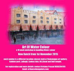 Art House: Art Workshops in Bengaluru November 2015