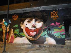 Grafite na Avenida Presidente Antônio Carlos - Belo Horizonte - MG