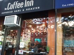 Another great place to have coffee and enjoy the Upper East Side at East 70 off of First Ave!