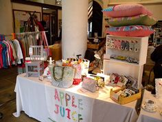 Thoughtful Craft Fair Tables