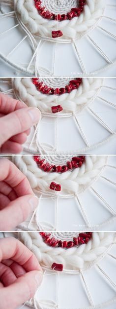How to Add Beads to a Weave
