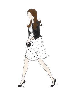 "Duchess of Cambridge Kate Middleton Fashion Prince George  Pregnancy Print 8.5""x11"" Topshop"