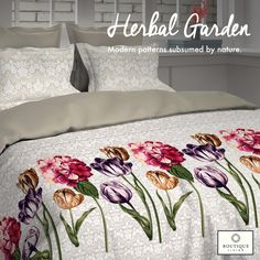 #HerbalGarden is 300TC collection offered by #BoutiqueLiving for increased durability in absolute fashion! #Luxury #Bedding #Modern #Trending #Floral #Design