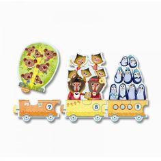 Djeco Puzzle Ich zähle für Kinder ab 3 Jahren