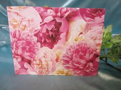 FLOWERS IN BLOOM Notes Cards Set of 18 Stunning Floral Note