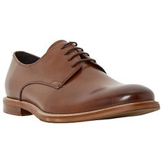 Buy Bertie Rae Derby Shoes, Tan Online at johnlewis.com