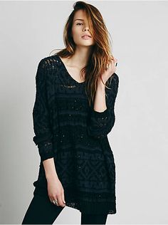 Free People Back And Forth Tunic, $128.00