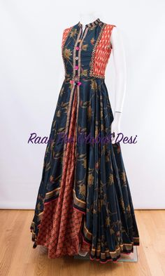 indian clothing ONLINE USA Silk brocade top with golden embroidery with matching bottom and dupatta Kurti Designs Party Wear, Kurti Neck Designs, Lehenga Designs, Blouse Designs, Indian Dresses Online, Indian Gowns Dresses, Gowns Online, Long Gown Dress, Saree Dress