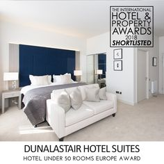 We are very excited to announce that the Dunalastair Hotel Suites have been shortlisted for the Hotel under 50 Rooms #Europe Award in The International #Hotel and #Property #Awards 2018.