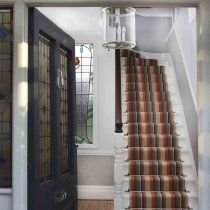 There's nothing more inviting than these stripy stairs, another great #carpet. You can get yours at www.michael-john.co.uk