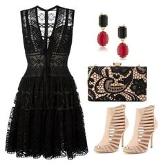 A fashion look from November 2016 featuring embroidery dresses, nude heel sandals and handbag purse. Browse and shop related looks. Nude Heels, Embroidery Dress, Elie Saab, Lbd, Moschino, Polyvore Fashion, Fashion Looks, Clothing, Shopping