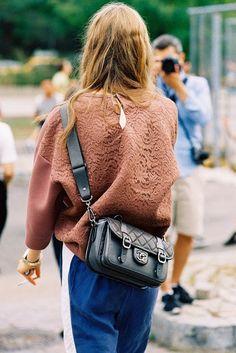 fashion-streetstyle: (via Vanessa Jackman: New York Fashion Week SS 2014 Look Fashion, Fashion Outfits, Womens Fashion, Fashion Trends, Net Fashion, Casual Outfits, Looks Style, My Style, Style Snaps