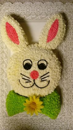 Want to bake an Easter Cake? Bake a cute & traditional Bunny Cake this Easter. Make your Easter brunch special with these festive Easter Bunny Cake Recipes. Easter Bunny Cake, Bunny Party, Easter Cupcakes, Easter Cookies, Easter Treats, Cake Designs For Girl, Desserts Ostern, Rabbit Cake, Wilton Cake Decorating