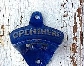 Mediterranean Blue Bottle Opener -