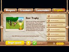 Mobile game Skillshot The Hunt by Bragi Interactive: Deer Trophy
