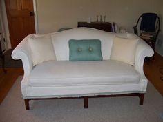 Slipcovers For Camelback Sofa