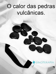 The heat of The volcanic stones