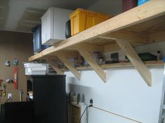 Homemade Garage Workbench | The terrific photograph above, is section of Creative Building Garage ...
