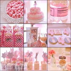 ballerina party favors | cookies by Sweet Cookie Boutique