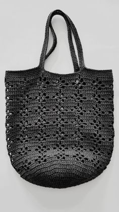 Marvelous Crochet A Shell Stitch Purse Bag Ideas. Wonderful Crochet A Shell Stitch Purse Bag Ideas. Crochet Market Bag, Crochet Tote, Crochet Purses, Knit Crochet, Hand Knit Bag, Mode Crochet, String Bag, Jute Bags, Knitted Bags