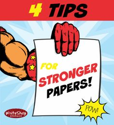 4 tips for stronger papers