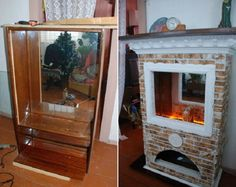 22 superb ways to bring your old stuff back to life Diy Casa, Cozy House, Diy Furniture, Repurposed, Recycling, Sweet Home, Old Things, Diy Projects, Diy Crafts