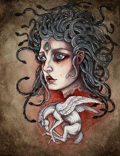 """Child of Medusa"" by Caitlin Hackett"