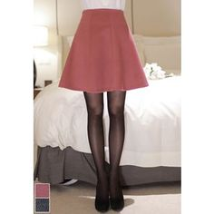 Buy MyFiona Zip-Back Flared Skirt at YesStyle.com! Quality products at remarkable prices. FREE WORLDWIDE SHIPPING on orders over US$35.