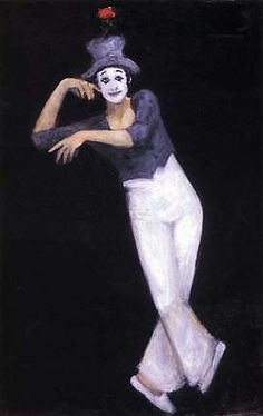 "Marcel Marceau as ""Bip"""