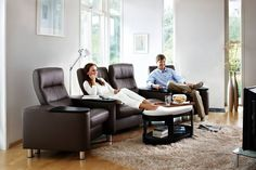 Upgrade your home theater with Ekornes Wave seating.  Get up to $1,500 towards your Ekornes purchase during our Anniversary Sale! Visit our showrooms or call 540.342.1844 to inquire.
