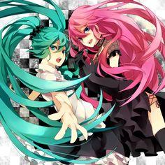 Miku x Luka (Vocaloid)