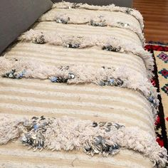 My  Vintage Moroccan Wedding Blanket