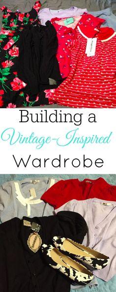 Building a Vintage-Inspired Wardrobe, Vintage Clothing, Retro Clothing #vintage #retro #1950s #fashion