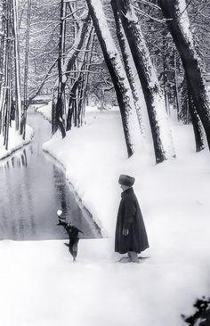 Jacques Henri Lartigue, Photographer, Bibi. Megevè, janvier 1930