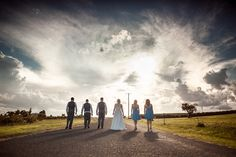 on the road, Country Wedding style.