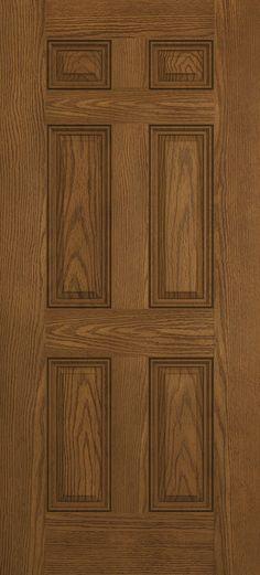 3068 6-Panel Front Entry Door (Stain Grade)