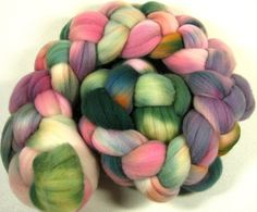 Rose Petals Merino Wool Top by yarnwench on Etsy, $16.58