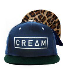 Jelly x Cream - Cream SnapBack -Limited Edition  oooo leopard print <3