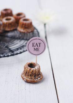 Stracciatella-Gugls, Gugl, Cake, Küchlein, Eat Me
